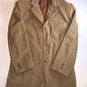 Brooks Brothers Blazer Camol  Men's Size 42R 100%
